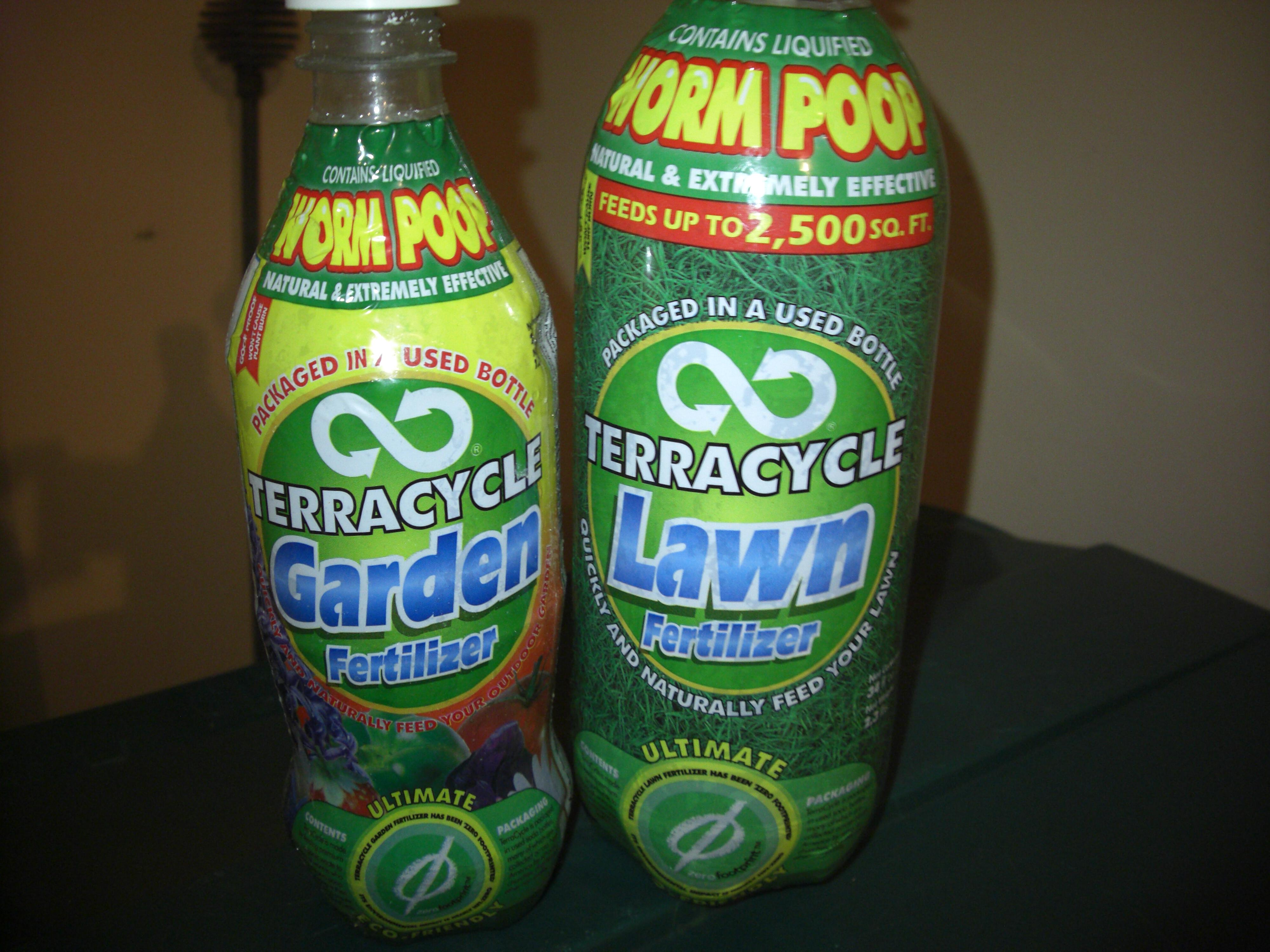 TerraCycle liquid worm poop lawn fertilizer