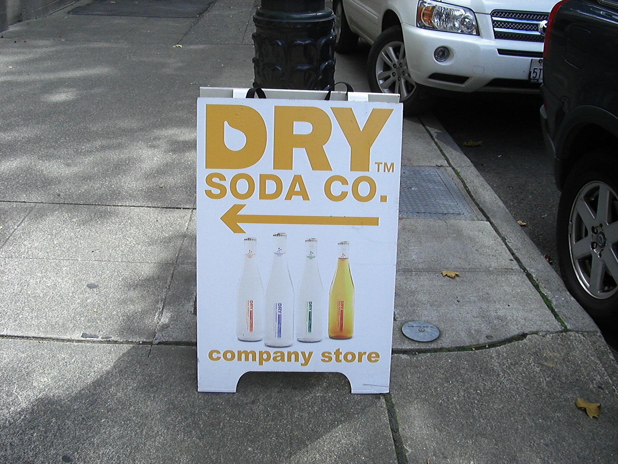 DRY Soda company Seattle