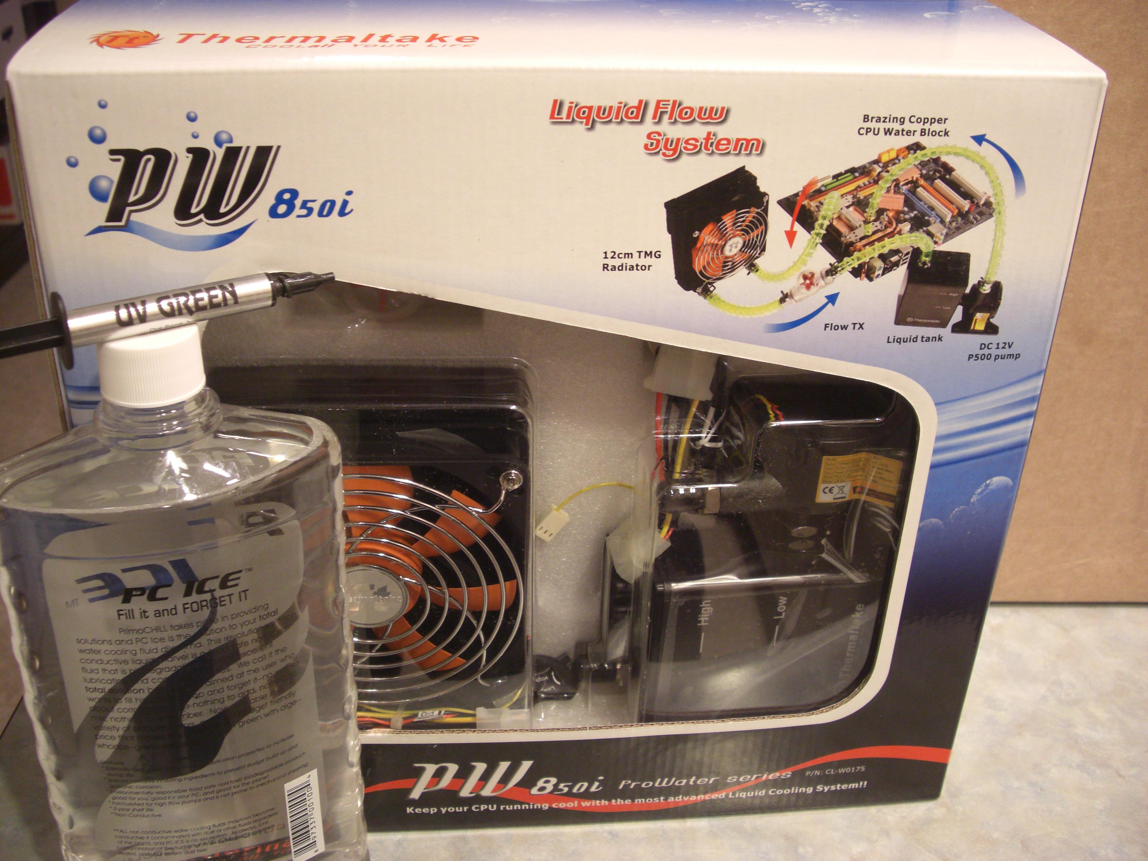 Thermaltake ProWater 850i Liquid Cooling System with PrimoChill PC ICE