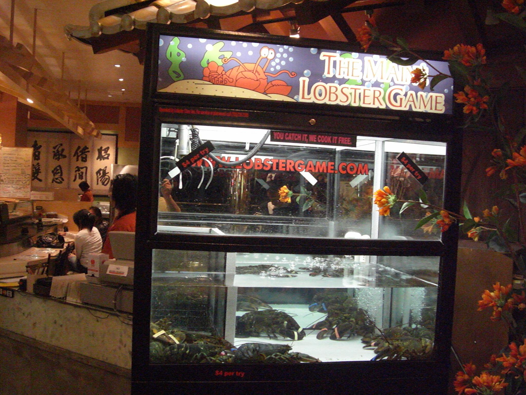 The Maine Lobster Game Bally's Las Vegas