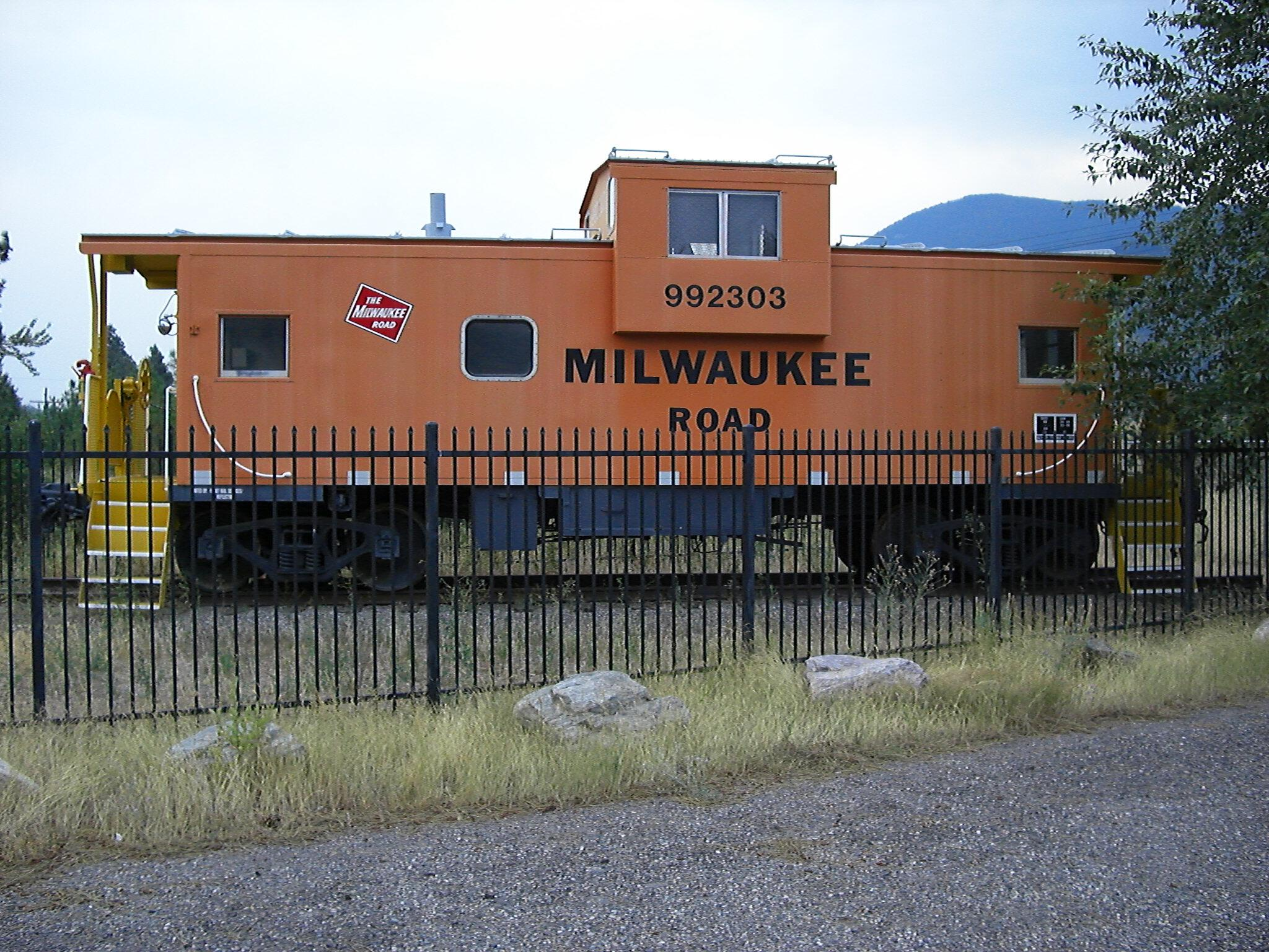 992303 Milwaukee Road The Milltown Superfund Caboose