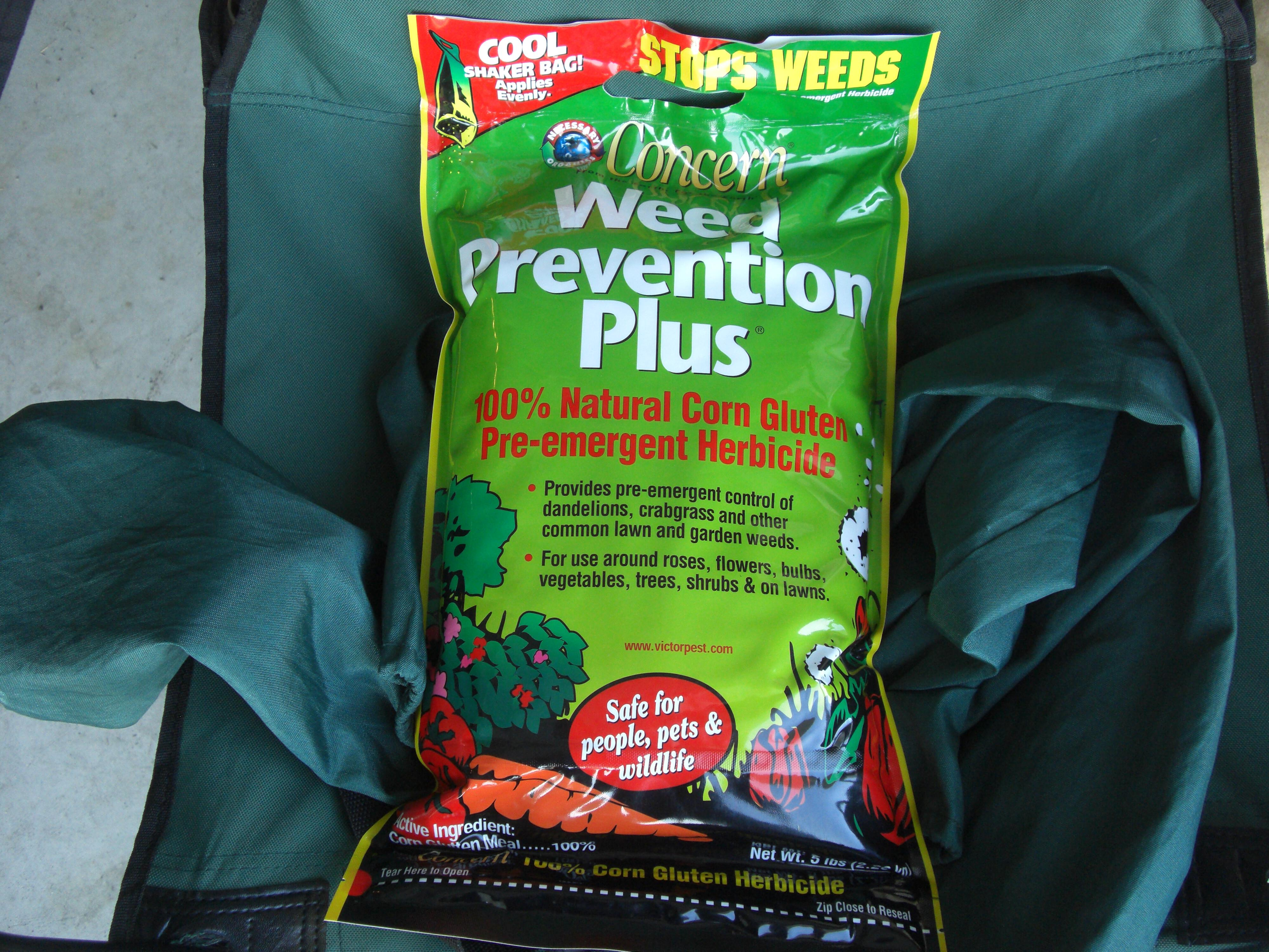 Concern Weed Prevention Plus 100% Natural Corn Gluten