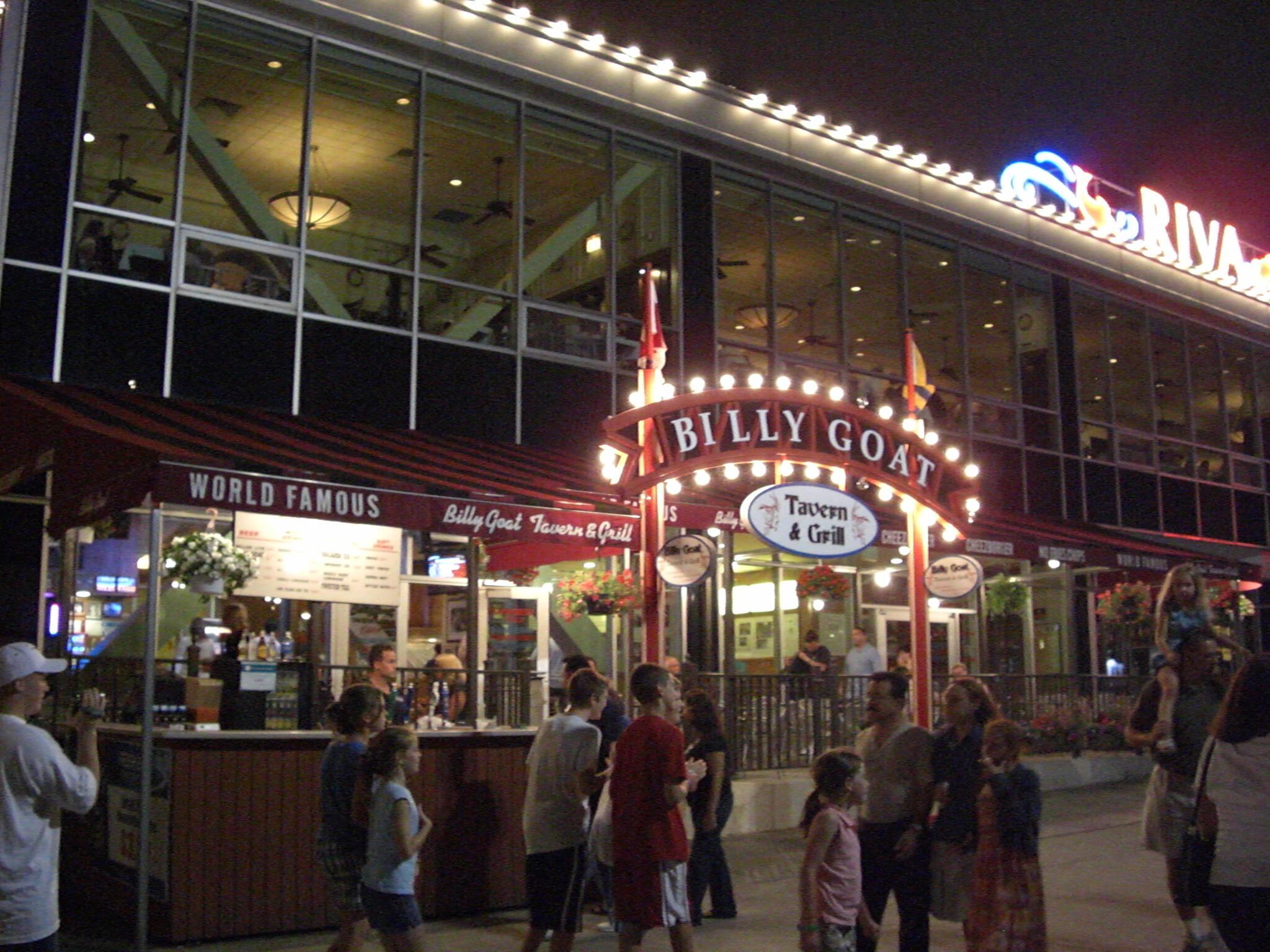 World Famous Billy Goat Tavern & Grill Navy Pier Chicago