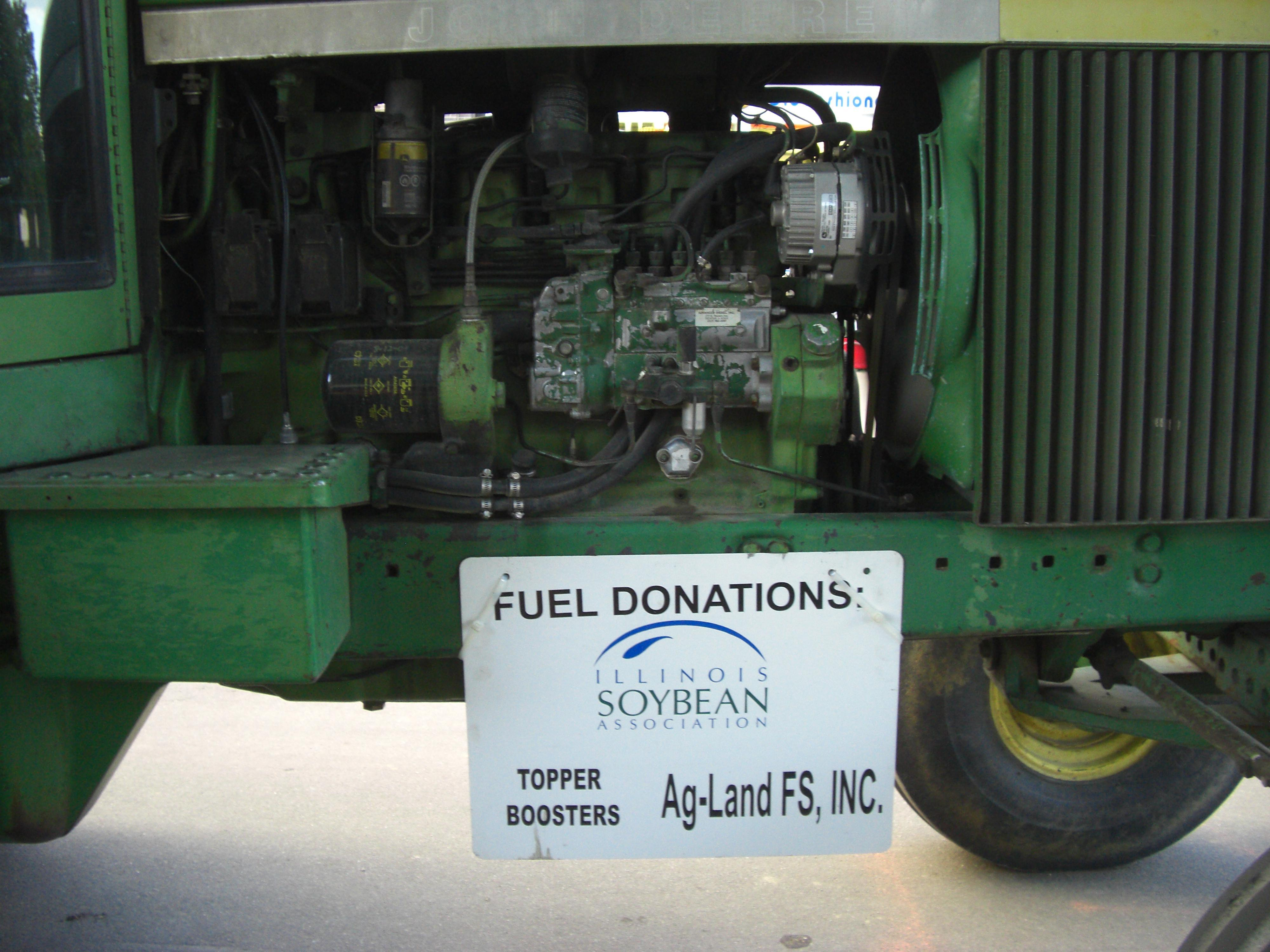 Illinois State Fair tram fuel donations