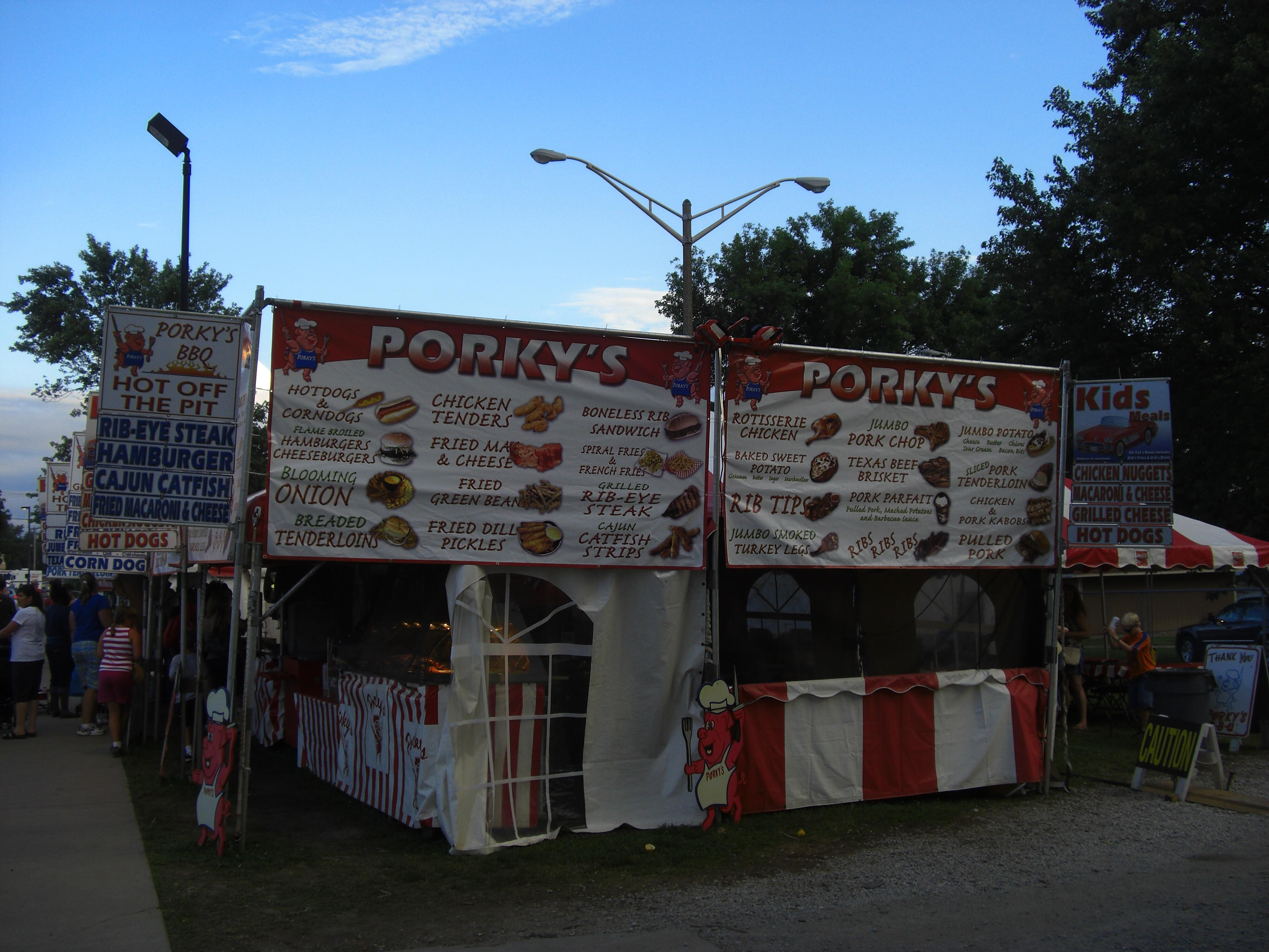 Porky's at the 2009 Illinois State Fair