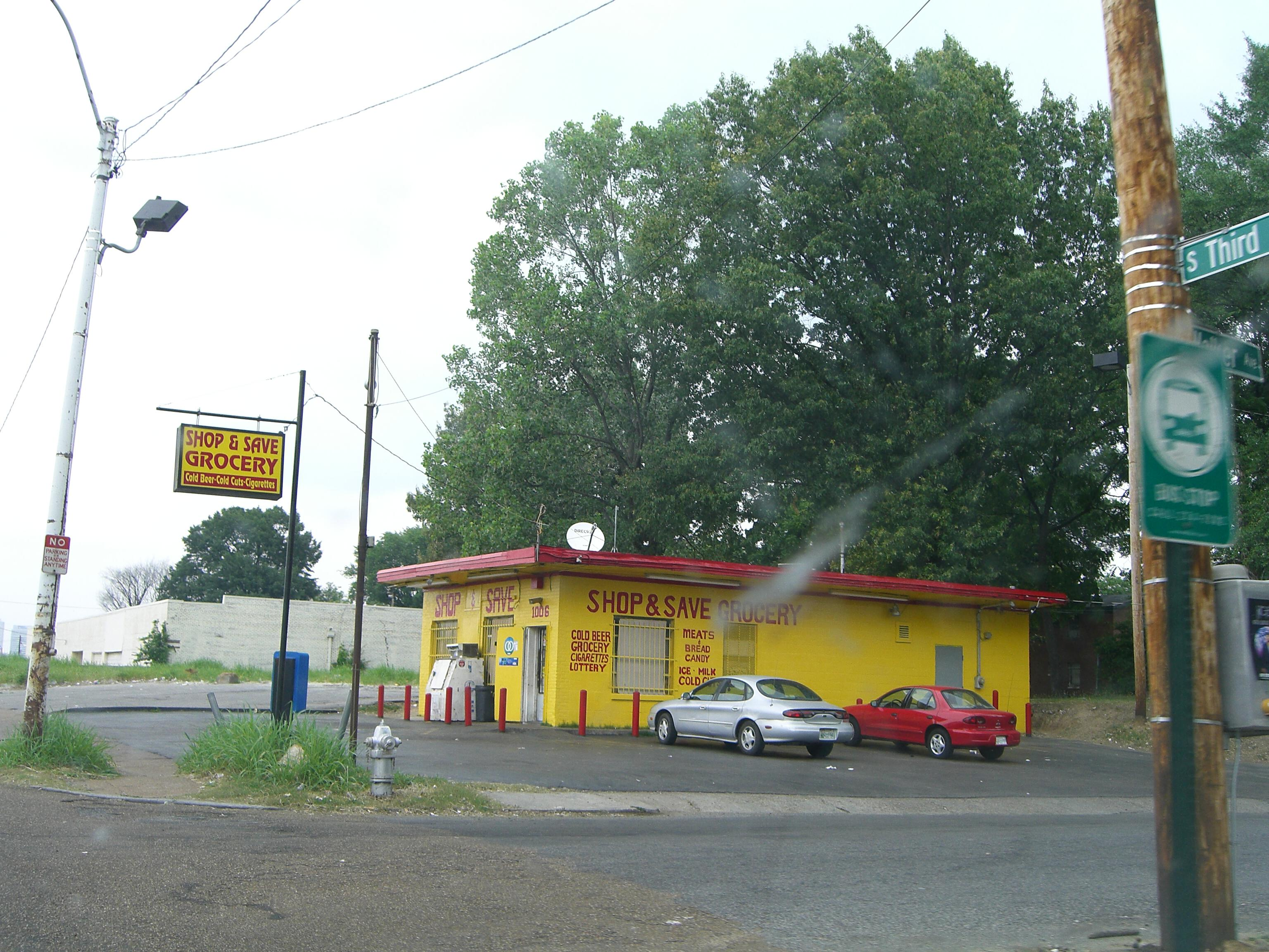 Shop and Save Grocery Memphis Tennessee