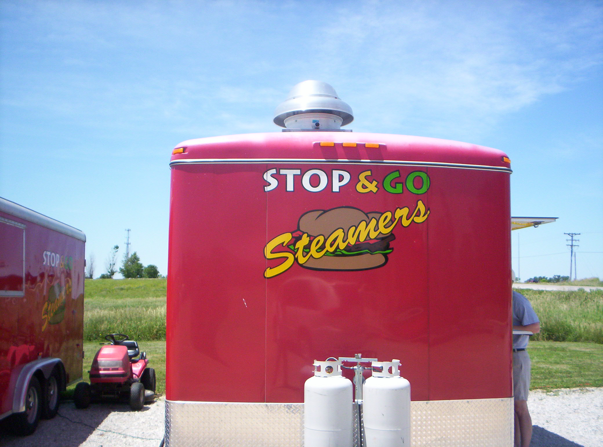 Stop & Go Steamers hamburgers located in eastern Iowa