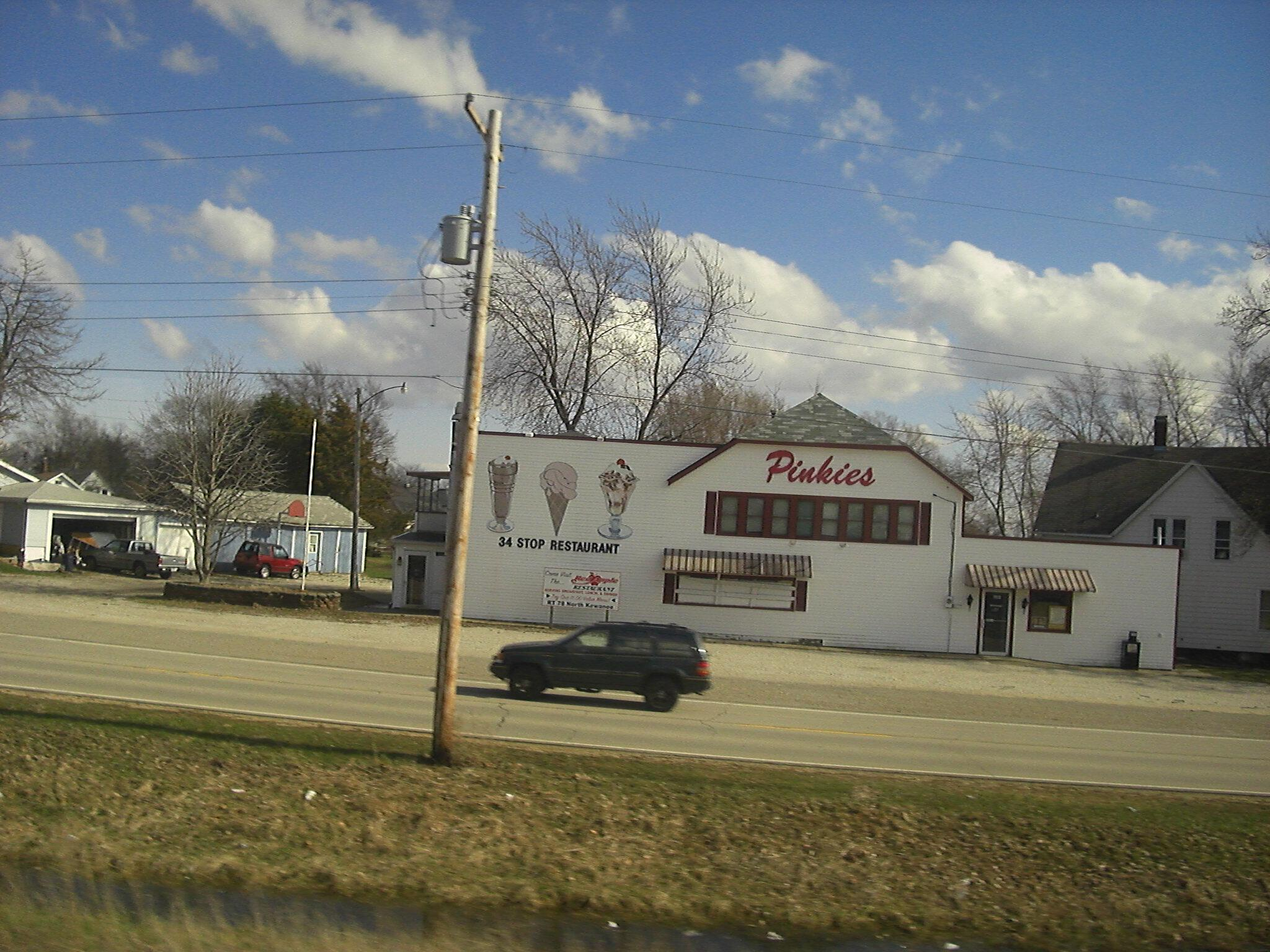 Pinkies 34 Stop Kewanee Illinois