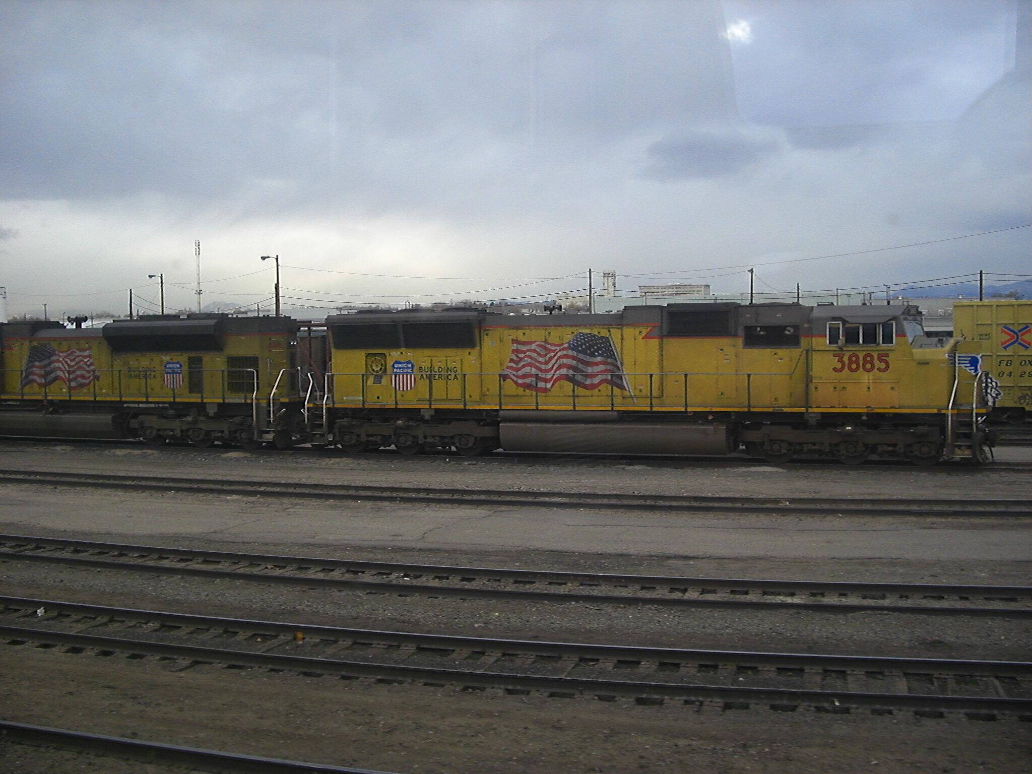 Union Pacific locomotive 3885