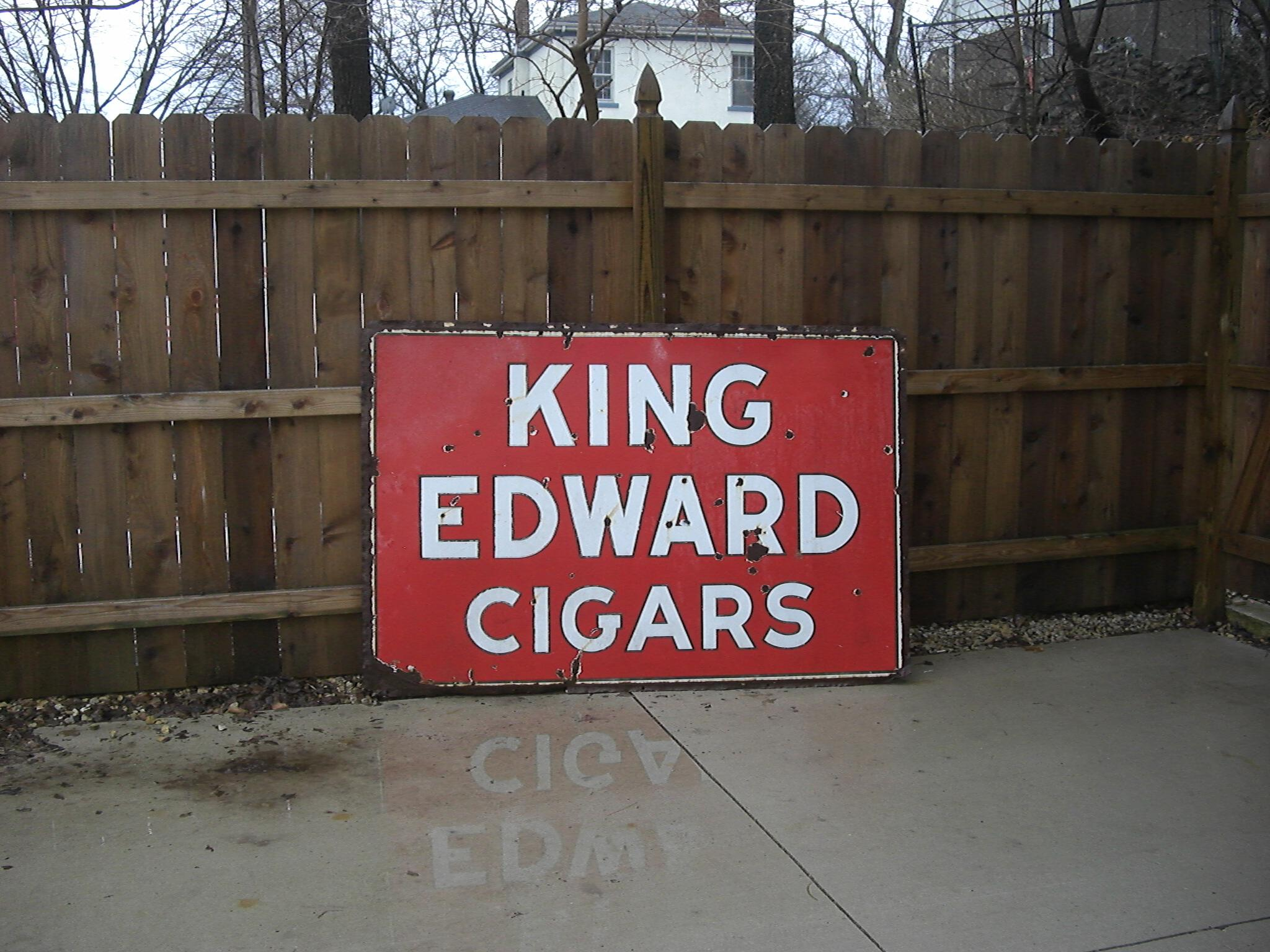 King Edward Cigars sign American Pickers