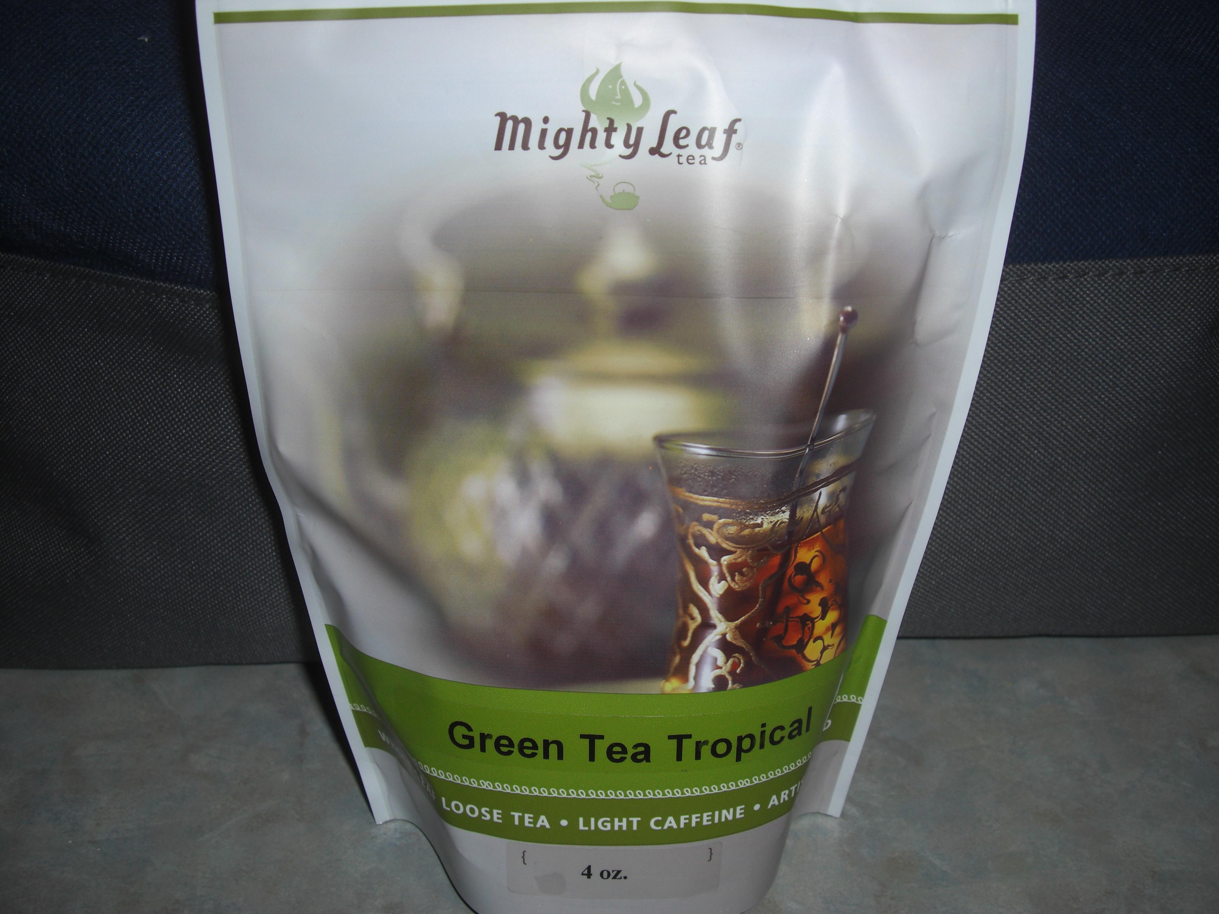 Green Tea Tropical in Loose Tea Top Rated at Mighty Leaf