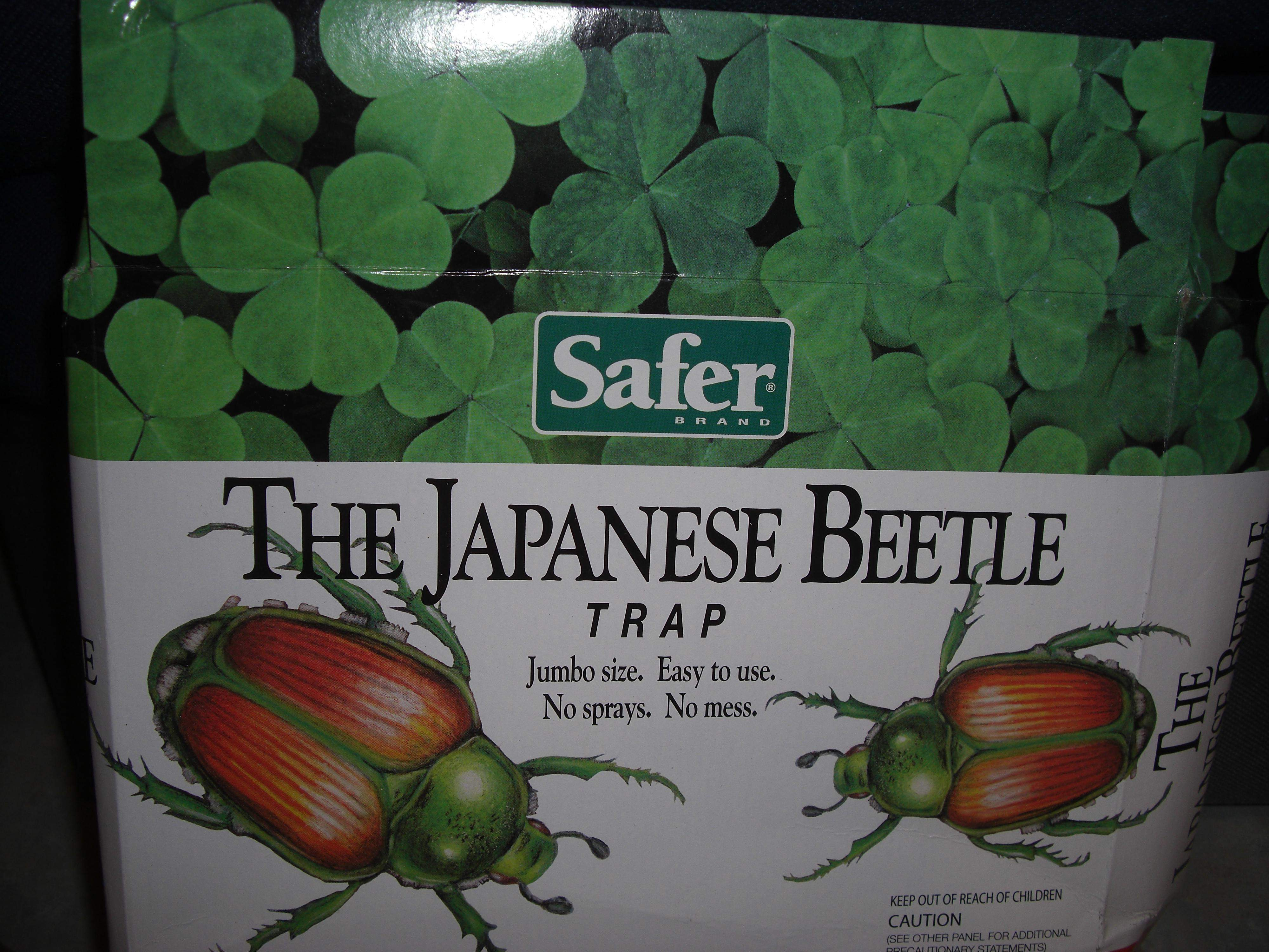 Time to bring the Japanese Beetle traps inside