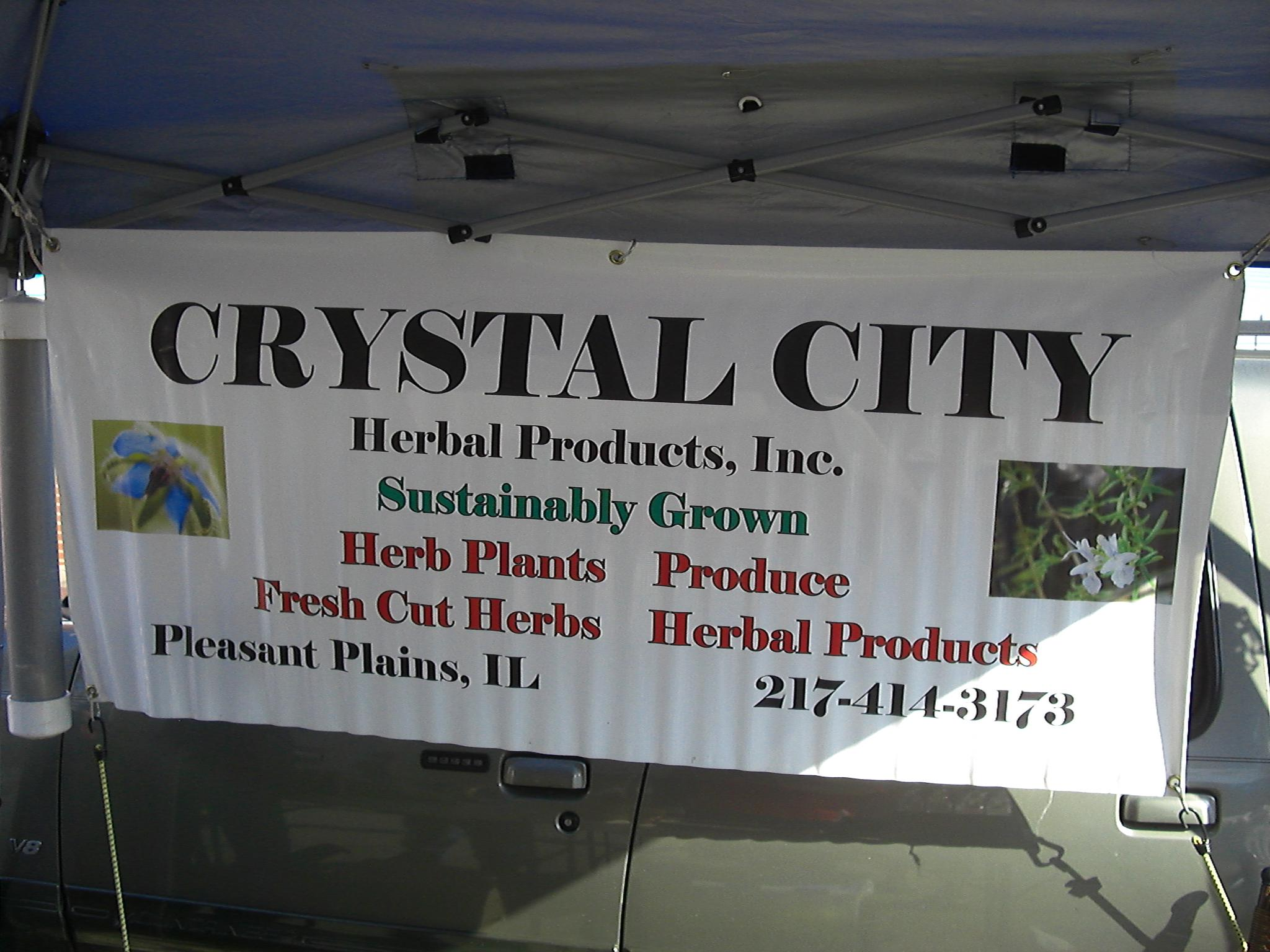 Crystal City Herbal Products Old State Capitol Farmers Market