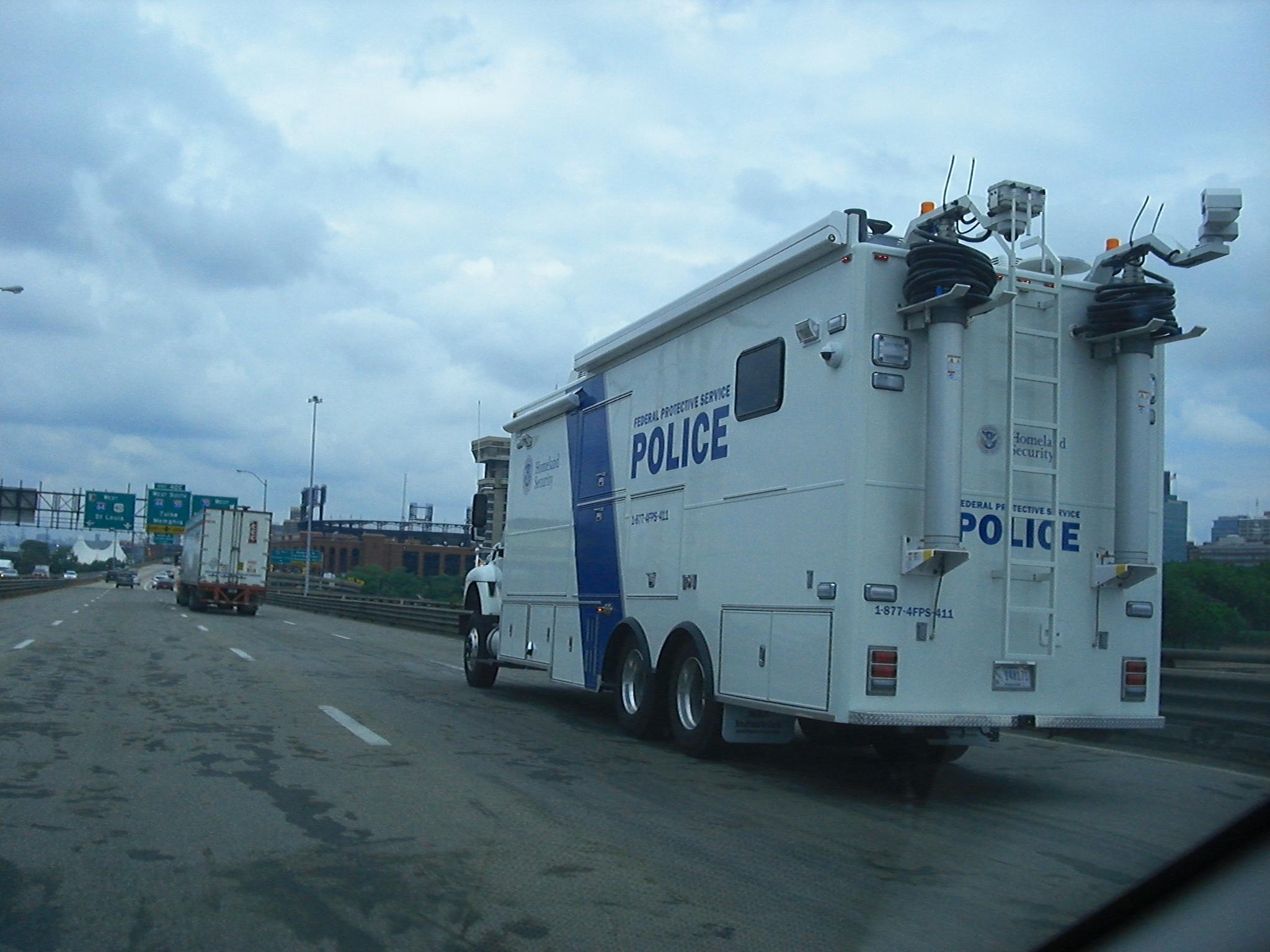 Homeland Security Truck St Louis Iggy Uncensored