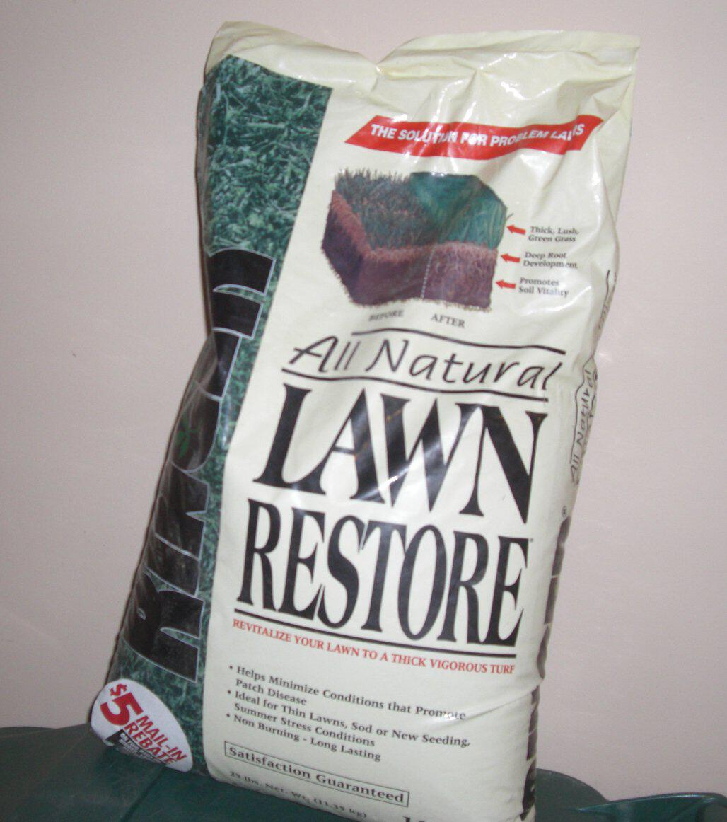 CONCLUSIONS The Ringer Corporation products Lawn Restore ...